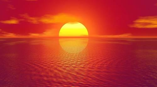 Matahari juga ikut Mati ketika kiamat alam semesta terjadi