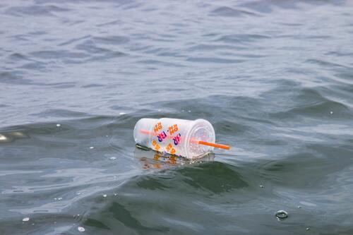 Sampah Plastik Lautan
