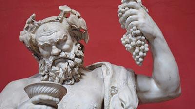 dewa dionysus, anak dewa zeus, termasuk dewaa-dewi yunani tak populer tapi berjasa