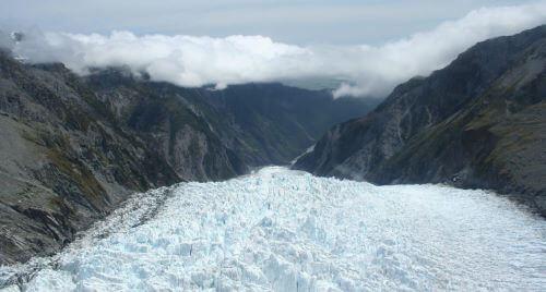 Franz Josef Glacier South Island - New Zealand