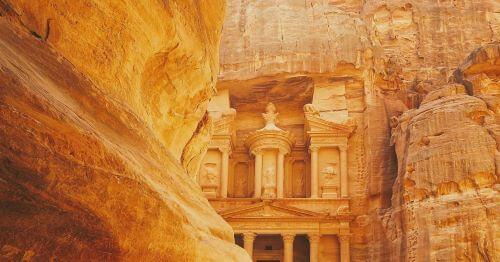 Lost City - Petra Jordan, Tempat Wisata Terindah