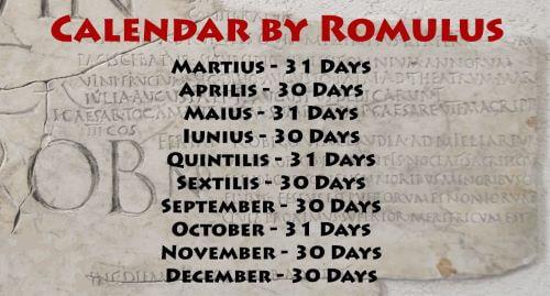 Romulus Calender