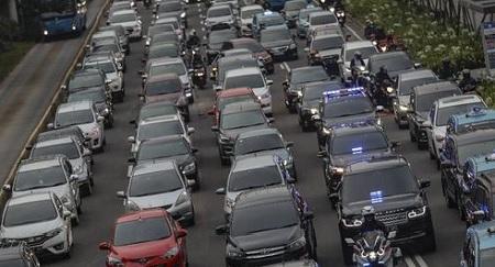 Jakarta, Indonesia Kota Termacet