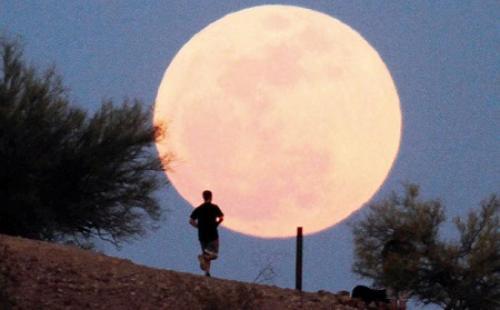 Peristiwa Langit Gerhana Bulan Total